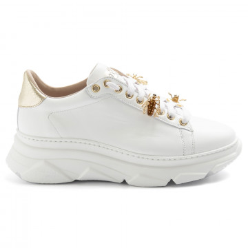 sneakers donna stokton 857dvitello bianco 8376