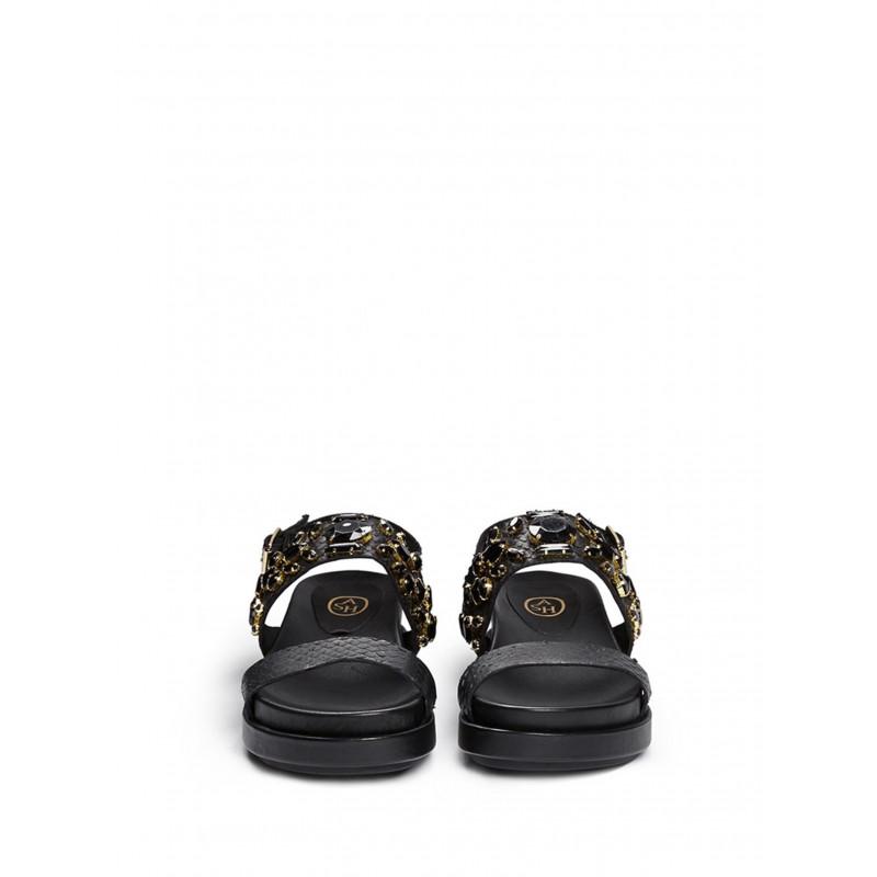 sandali donna ash stone hazardflat black