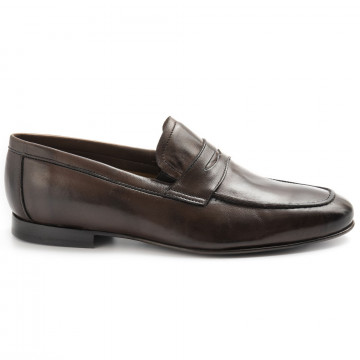 mocassini uomo sangiorgio 6804softy t moro 8369