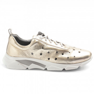 sneakers donna calpierre chiarabohemia platino 8380