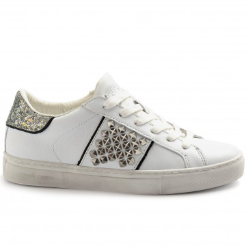 sneakers donna crime london 2562910 bianco 8329