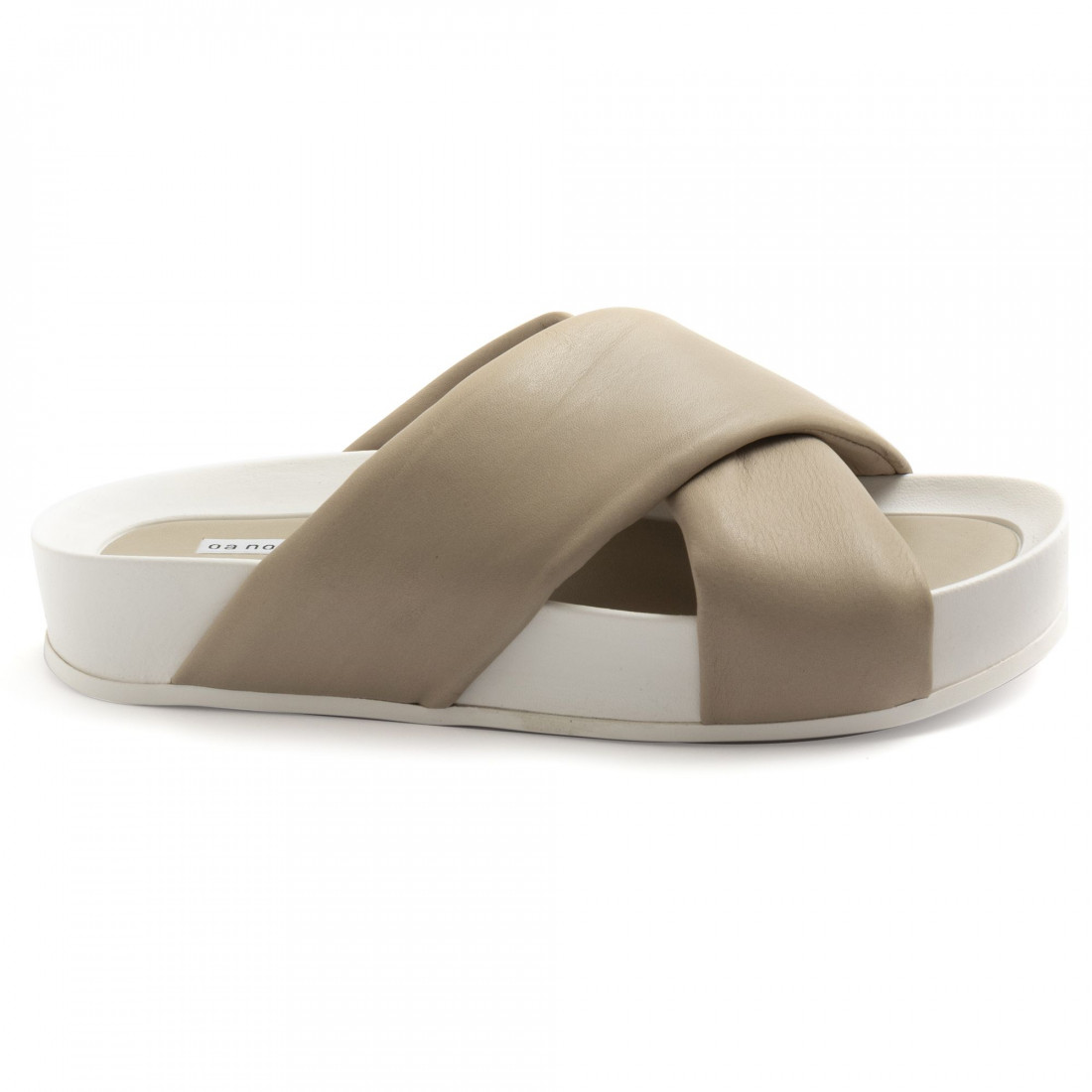 sandali donna oa non fashion a18calf stone 8605