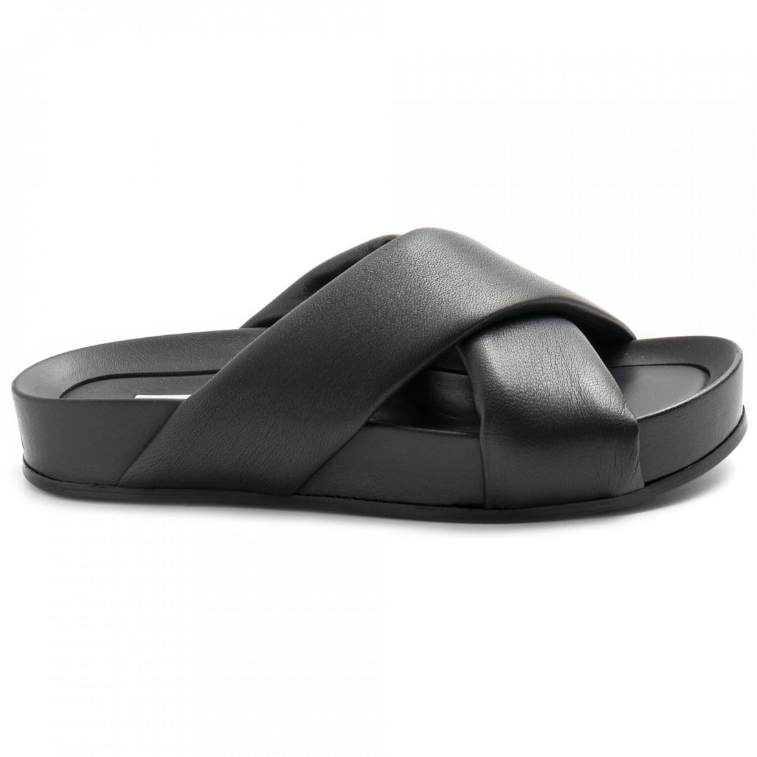 sandali donna oa non fashion a18calf nero 8607