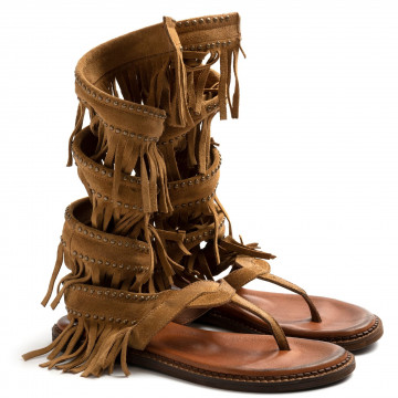 sandali donna zoe cheroker05camoscio camel 8655