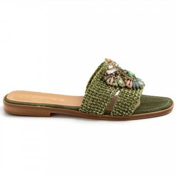 sandali donna fiorina s189528 jessica verde 8757